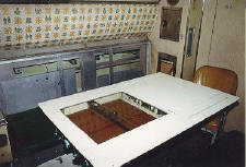 The officer's wardroom